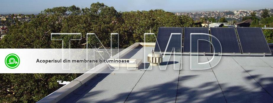 Membrane bituminoase. Битумные мембраны.